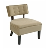 Curves Button Accent Chair
