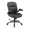 Executive Mid Back Bonded Leather Chair