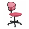 Office Star Mesh Task chair in Pink Fabric