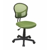 Office Star Mesh Task chair in Green Fabric