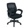 Office Star Screen Back Over Designer Contoured Shell Chair