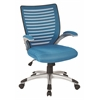 Mesh Seat and Screen Back Managers Chair