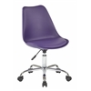 Office Star Emerson Student Office Chair With pneumatic Chrome base in Purple Finish