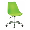 Office Star Emerson Student Office Chair With pneumatic Chrome base in Green Finish
