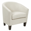 Ethan Tub Chair in Linen Fabric