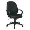 Executive High Back Managers Chair with Fabric Back