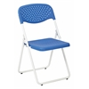 White Frame Foliding Chair