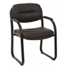 Deluxe Visitors Chair with Sled Base