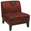 Office Star Glen Chair in Groovy Red