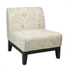 Office Star Glen Accent Chair in Script