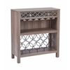 Office Star Helena Wine Storage Console in Greco Oak Finish