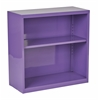 Office Star Metal Bookcase in Purple Finish, Ships fully Assembled.