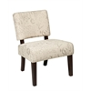 Office Star Jasmine Accent Chair in Script
