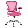 Office Star Juliana Task Chair in Pink Mesh
