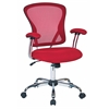 Office Star Juliana Task Chair in Red Mesh