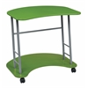 Office Star Computer Cart in Green Finish