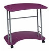 Kool Kolor Computer Desk in Purple Finish