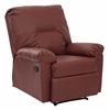 Office Star Kensington Recliner (Crimson Red)