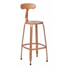 "Lexington 30"" Metal Barstool In Copper Finish, 2-Pack"