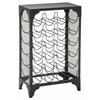 Madera Wine Rack in Matte Black Finish