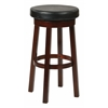 "Office Star OSP Designs 30"" Metro Round Barstool Black"