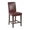 "24"" Parsons Counter Stool in Crimson Red KD 2-Pack"