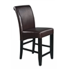 "24"" Parsons Bonded Leather Barstool"