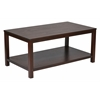 "Office Star Merge 42"" Rectangular Cocktail Table (Mahogany)"
