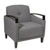 Office Star Main Street Chair in Woven Charcoal