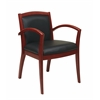 Napa Cherry Guest Chair With Full Cushion Back