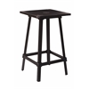 Olympia Metal Bar Table in Antique Black