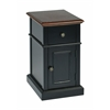 Office Star Oxford Two Tone Side Table