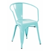 "30"" Metal Chair In Mint Finish (4-Pack)"