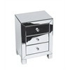Office Star Reflections 3 Drawer Accent Table