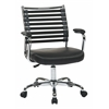 Office Star Randal Office Chair With Black Fabric & Black Elastic Straps