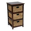 Office Star Seabrook Three-Tier Storage Unit