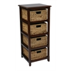Office Star Four-Tier Storage Unit
