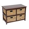 Office Star Four-Drawer Storage Unit