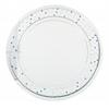 Silver Frame Round Mirror ASM