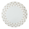 Light Gold Frame Round Mirror ASM