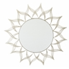 Silver Metal Round Mirror ASM