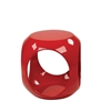 Office Star Slick Cube in Red