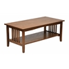 Office Star Sierra Coffee Table (Ash Finish)