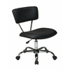 Office Star Vista Task Office Chair in Black