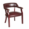 Office Star Traditional Guest Chair with Wrap Around Back