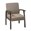 Deluxe Mahogany Finish Guest Chair