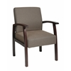 Deluxe Espresso Finish Guest Chair