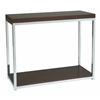 Office Star Wall Street Foyer Table in Espresso