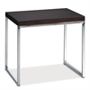 Office Star Wall Street End Table in Espresso