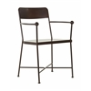 Westport Metal Chair in Copper Finish, Fully Assembled.